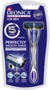 Деоника Shaving Line for Men Perfectly Smooth Shave станок бритвенный многоразовый