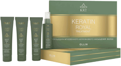 Оллин Professional Keratine Royal Treatment набор для волос (шампунь + бальзам + сыворотка + блеск)