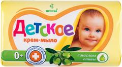 Весна Детское с Маслом Оливы крем-мыло 0+