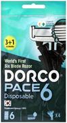 Dorco Pace 6 станок бритвенный одноразовый мужской