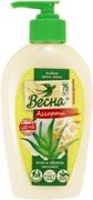 Весна Ассорти Алоэ и Овсяное Молочко жидкое крем-мыло