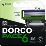 Dorco Pace 6 сменные кассеты