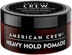 American Crew Heavy Hold Pomade помада сильной фиксации с высоким уровнем блеска