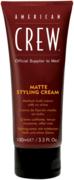 American Crew Matte Styling Cream крем для укладки средней фиксации без блеска мужской
