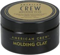 American Crew Molding Clay глина формирующая сильной фиксации с средним уровнем блеска