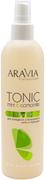Аравия Professional Spa Manicure Tonic Mint & Camomile Мята и Ромашка тоник для очищения и увлажнения кожи