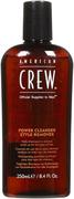 American Crew Power Cleanser Style Remover шампунь очищающий волосы от укладочных средств мужской