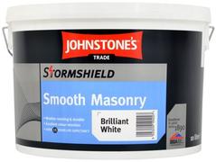 Johnstone's Stormshield Smooth Masonry акриловая матовая фасадная краска