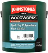 Johnstone's Quick Dry Polyurethane Floor Varnish быстросохнущий паркетный полиуретановый лак