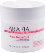 Аравия Organic Pink Grapefruit скраб для тела с гималайской солью