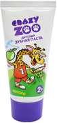 Весна Crazy Zoo Яблоко зубная паста детская от 2 лет