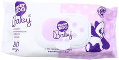 Весна Crazy Zoo Baby салфетки влажные гигиенические детские