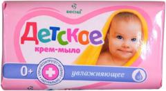 Весна Детское Увлажняющее крем-мыло 0+
