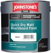 Johnstone's Quick Dry Matt Blackboard Paint матовая краска для покрытия школьных досок
