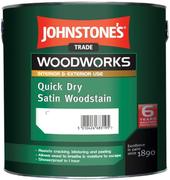 Johnstone's Quick Dry Satin Woodstain быстросохнущий защитный состав для древесины