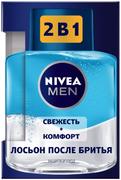 Нивея Men Защита и Уход Свежесть+Комфорт лосьон после бритья 2 в 1