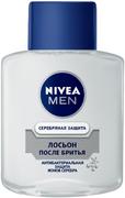 Нивея Men Серебряная Защита Антибактериальный Эффект лосьон после бритья с ионами серебра