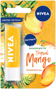 Нивея Tropical Mango бальзам для губ