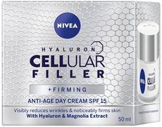 Нивея Hyaluron Cellular Filler+Firming с Экстрактом Магнолии SPF15 крем для лица антивозрастной дневной