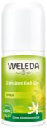 Weleda Citrus 24h Deo Roll-On дезодорант роликовый цитрусовый