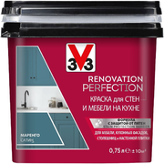 V33 Renovation Perfection краска для стен и мебели на кухне