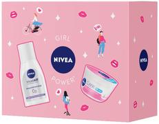 Нивея Care/Micell Air Дыхание Кожи набор (мицеллярная вода + крем для лица)