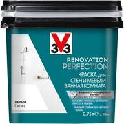 V33 Renovation Perfection краска для стен и мебели ванная комната