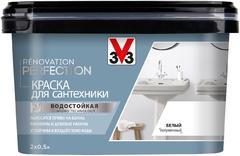 V33 Renovation Perfection краска для сантехники с защитным покрытием