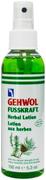 Gehwol Fusskraft Fusskraft Herbal Lotion лосьон для ног травяной