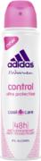 Адидас Control Cool & Care антиперспирант аэрозольный женский без спирта