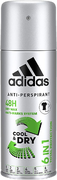 Адидас Cool & Dry антиперспирант аэрозольный мужской 6 в 1