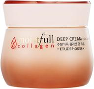 Etude House Moistful Collagen Deep Cream крем глубоко увлажняющий с коллагеном