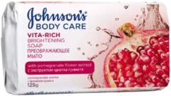 Johnson's Body Care Vita-Rich с Экстрактом Цветка Граната мыло преображающее