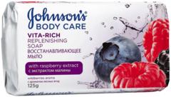 Johnson's Body Care Vita-Rich с Экстрактом Малины мыло восстанавливающее с ароматом лесных ягод