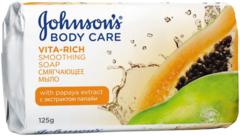 Johnson's Body Care Vita-Rich с Экстрактом Папайи мыло смягчающее