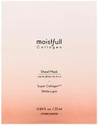 Etude House Moistfull Collagen Sheet Mask Super Collagen маска для лица тканевая