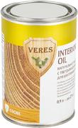 Veres Interior Oil натуральное масло с твердым воском для внутренних работ