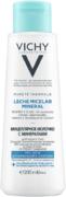 Vichy Purete Thermale Leche Micelar Mineral мицеллярное молочко с минералами для нормальной и сухой кожи