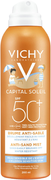 Vichy Capital Soleil Brume Anti-Sable SPF50+ солнцезащитный спрей-вуаль для детей