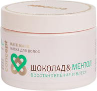 Concept S.P.A. Шоколад & Ментол Восстановление и Блеск маска для ослабленных волос