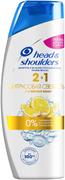 Head & Shoulders Цитрусовая Свежесть 2 в 1 шампунь и бальзам-ополаскиватель от перхоти для жирных волос