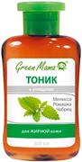 Green Mama Очищение Мелисса, Ромашка, Чабрец тоник для жирной кожи лица