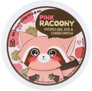 Secret Key Pink Racoony Hydrogel Eye & Cheek Patch патчи гидрогелевые для глаз и щек