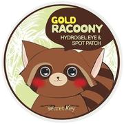 Secret Key Gold Racoony Hydrogel Eye & Spot Patch патчи гидрогелевые для кожи под глазами