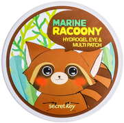 Secret Key Marine Racoony Hydrogel Eye Multi Patch патчи гидрогелевые для глаз с с морским комплексом