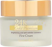 Secret Key 24K Gold Premium First Cream крем для лица омолаживающий с коллоидным золотом