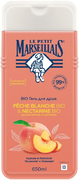 Le Petit Marseillais Белый Персик и Нектарин Bio гель для душа