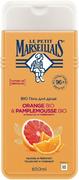 Le Petit Marseillais Апельсин и Грейпфрут Bio гель для душа