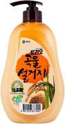 Kerasys Trio Rice Bran Рисовые Отруби средство для мытья посуды