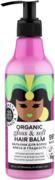Планета Органика Hair Super Food Блеск и Гладкость Органическое Масло Бурити бальзам для волос